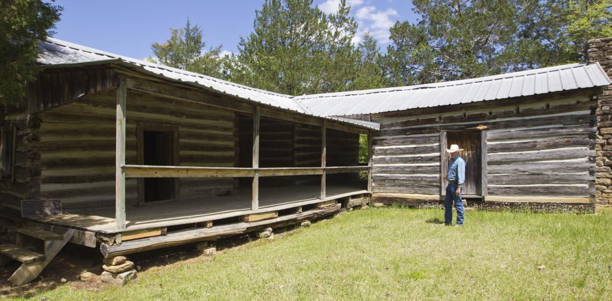 An image of an older wooden shack.