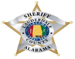Logo for the sheriffs department in Lauderdale County, Alabama